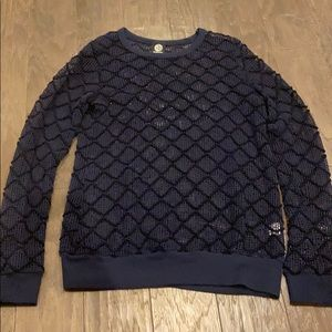 Bobeau Navy blue sweater, size L